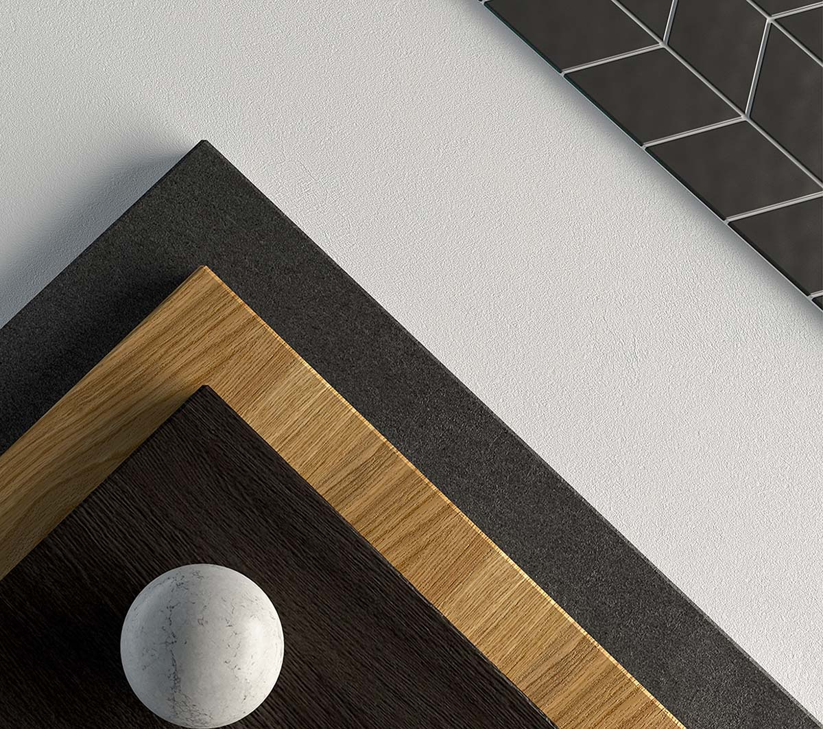 Details of finishes for residential building
